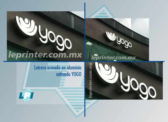 Letrero-armada-en-aluminio-satinado-YOGO