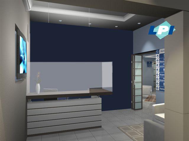Protectores de acílico para áreas de trabajo como la recepcion de una oficina, fabricados con acrílico y rotulados con la imagen corporativa de su empresa.
