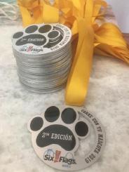 Reconocimiento medalla de aluminio